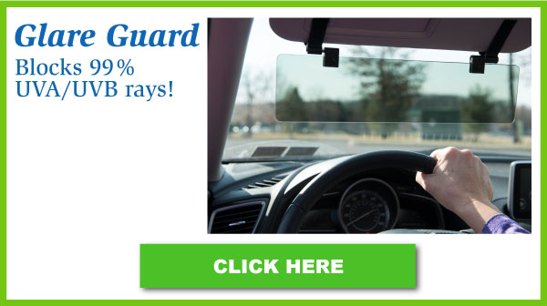 Glare Guard Car Visor Extender