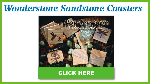 Wonderstone Sandstone Coasters